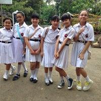Photo taken at SMA Negeri 1 Manado by Jimmy N. on 1/31/2015