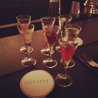 Photo taken at Aquavit by Briana R. on 10/5/2012