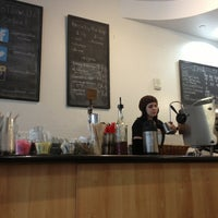 Photo taken at Press Coffee Roasters by Terrence G. on 3/13/2013