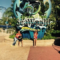 Photo taken at SeaWorld Guest Services by Simone M. on 3/12/2015