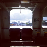 Photo taken at Woolwich Ferry by Adam S. on 9/14/2012