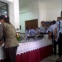Photo taken at Kantor Wilayah Kementerian Hukum dan HAM RI Jawa Timur by Nurhendro P. on 1/3/2013