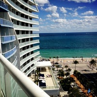 Photo taken at W Fort Lauderdale by Dean G. on 2/2/2013