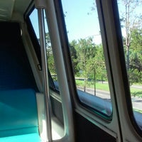 Photo taken at Monorail Teal by Dennis M. on 6/7/2015
