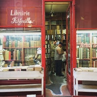 Photo taken at Librarie Farfouille by Winnie L. on 7/1/2015