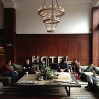 Photo taken at Ace Hotel Portland by Eric L. on 9/25/2012