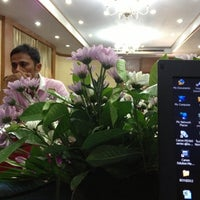 Photo taken at Golden City Hotel Ratchaburi by Bundit C. on 11/3/2012
