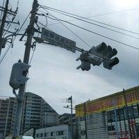 Photo taken at 産業道路入口交差点 by 銀河連邦 (. on 5/3/2017