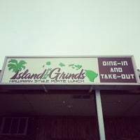 Photo taken at Island Kine Grinds by Bronson-Lee A. on 12/26/2012