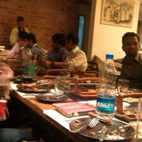 Photo taken at Barbeque Nation by Anupam P. on 6/6/2013