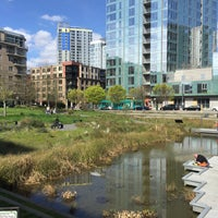 Photo taken at Tanner Springs Park by Lucas F. on 3/26/2016