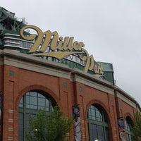 Photo taken at Miller Park by Dan B. on 5/28/2013