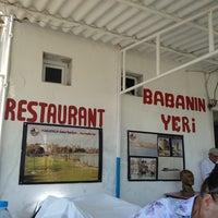 Photo taken at Baba'nin Restauranti by Evren K. on 8/8/2014