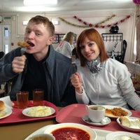 Photo taken at Столовая №5 by Andrey K. on 12/31/2012