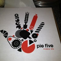 Photo taken at Pie Five Pizza Co. by Nancy W. on 1/20/2013