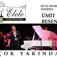 Photo taken at Elele Meyhanesi by Buğra Ç. on 5/9/2014