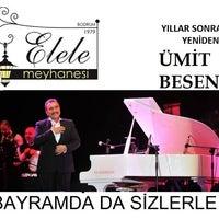Photo taken at Elele Meyhanesi by Buğra Ç. on 7/30/2014