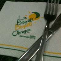 Photo taken at Los Bisquets Bisquets Obregón by Jonathan U. on 10/19/2012