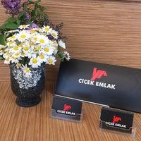 Photo taken at Çiçek Emlak by Nuray Y. on 3/25/2017
