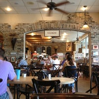Photo taken at La Farm Bakery by Holly H. on 7/4/2013