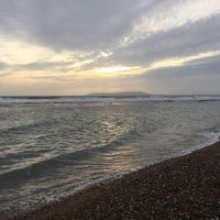 Photo taken at Ringstead Bay by WeymouthBeachBB on 12/28/2015