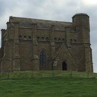 Photo taken at St Catherine's Chapel by WeymouthBeachBB on 10/14/2015