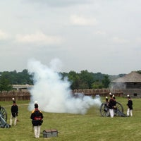 Photo taken at Fort Meigs State Memorial Park by Young on 7/4/2013