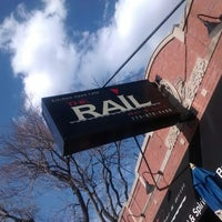 Photo taken at The Rail Bar & Grill by ~b .. on 5/3/2014