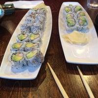 Photo taken at Tuxedo Sushi by Rosa G. on 5/18/2015