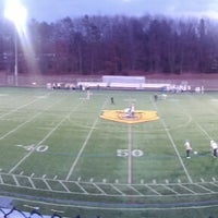 Photo taken at WNE Golden Bear Stadium by Ben K. on 3/3/2013
