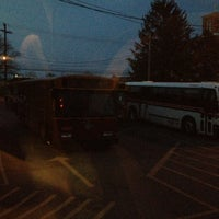 Photo taken at Bieber Bus Terminal by Alex Poppinton on 4/17/2013