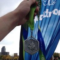 Photo taken at Medtronic TC 10 Mile Finish Line by Andrew D. on 10/6/2013