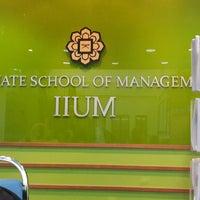 Photo taken at Graduate School of Management (IIUM-GSM) by Yayadan on 11/28/2014