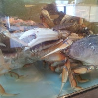 Photo taken at Pier 46 Seafood Market by Christopher C. on 3/12/2014