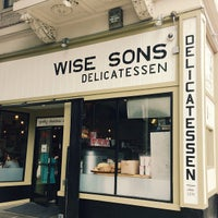 Photo taken at Wise Sons Jewish Delicatessen by Marie A. on 4/6/2013