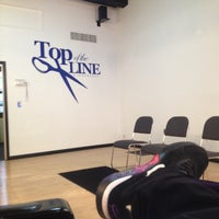 Photo taken at Top of the Line Barbershop by Alexis A. on 5/11/2013