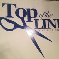 Photo taken at Top of the Line Barbershop by Alexis A. on 5/31/2013