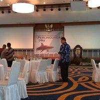 Photo taken at Kementerian Kelautan dan Perikanan by Anton W. on 3/19/2013