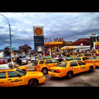 Photo taken at Shell by Oscar M. on 11/2/2012
