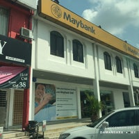 Photo taken at Maybank by iMin on 12/15/2015