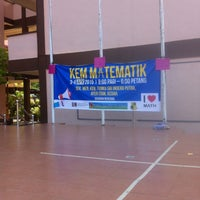 Photo taken at SMK Tunku Seri Indera Putera by Cha f. on 4/4/2015