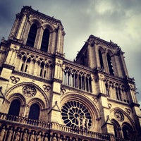 Photo taken at Cathedral of Notre Dame de Paris by Patrick D. on 6/1/2013
