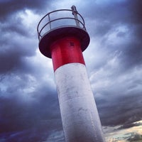 Photo taken at Blockhouse Island by Patrick D. on 6/26/2013