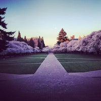 Photo taken at UW Quad by Sunil G. on 3/30/2013