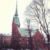 Photo taken at Deutsche Kirche by ABRA.KAD.ABRA on 1/7/2013