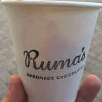 Photo taken at Ruma's Handmade chocolate by Michael O. on 9/14/2015