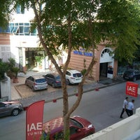 Photo taken at IAE Tunis by Ahmed J. on 10/19/2015