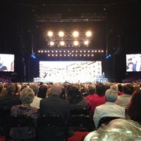 Photo taken at Andre Rieu by Jeff E. on 3/10/2013