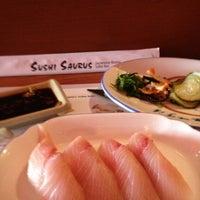 Photo taken at Sushi Saurus by TVToni on 11/27/2012
