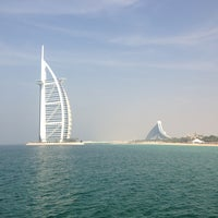 Photo taken at Madinat Jumeirah Private Beach by Maxim L. on 1/28/2013